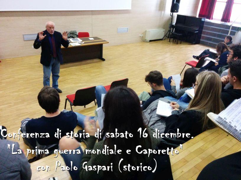 Conferenza di Storia - 16 dicembre 2017