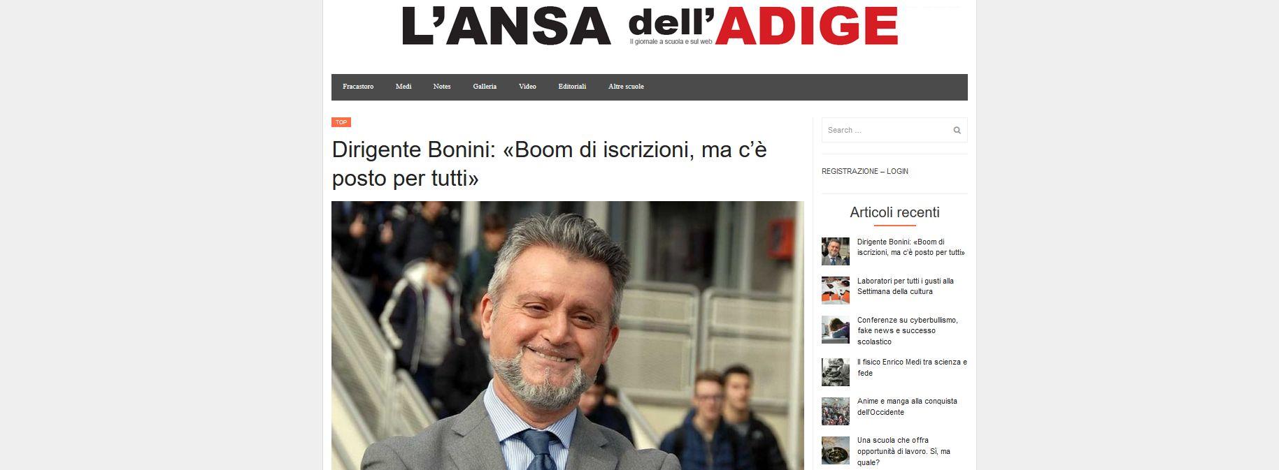 !! Nuovo articolo Mediavox !! - Dirigente Bonini: