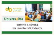 Univers@lità: piattforma formativa e informativa con percorso e-learning per un'università inclusiva