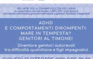Giovedì 17 ottobre - ore 20:30 - Sona - ADHD Genitori al timone!