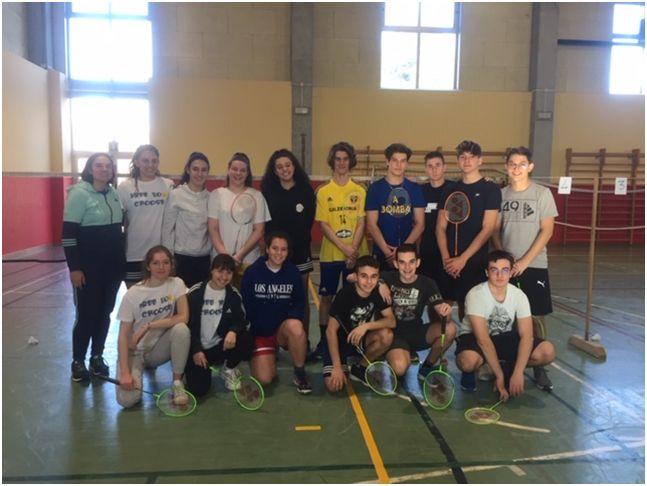 Gare provinciali di Badminton - Complimenti a tutti i partecipanti!
