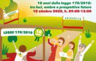 5-11 ottobre: Settimana Nazionale della dislessia - Convegno online 10 ottobre