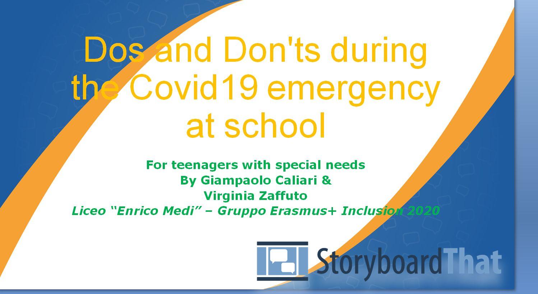 Social story - Corso Inclusive Education for All - Erasmus+