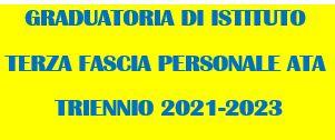 Avviso di pubblicazione decreto n° 50 del 03/03/2021 - Indizione della procedura di aggiornamento delle graduatorie di circolo e di istituto di terza fascia del personale ATA -triennio scolastico 2021-23