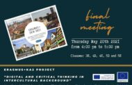 Incontro finale internazionale ERASMUS+  *online*