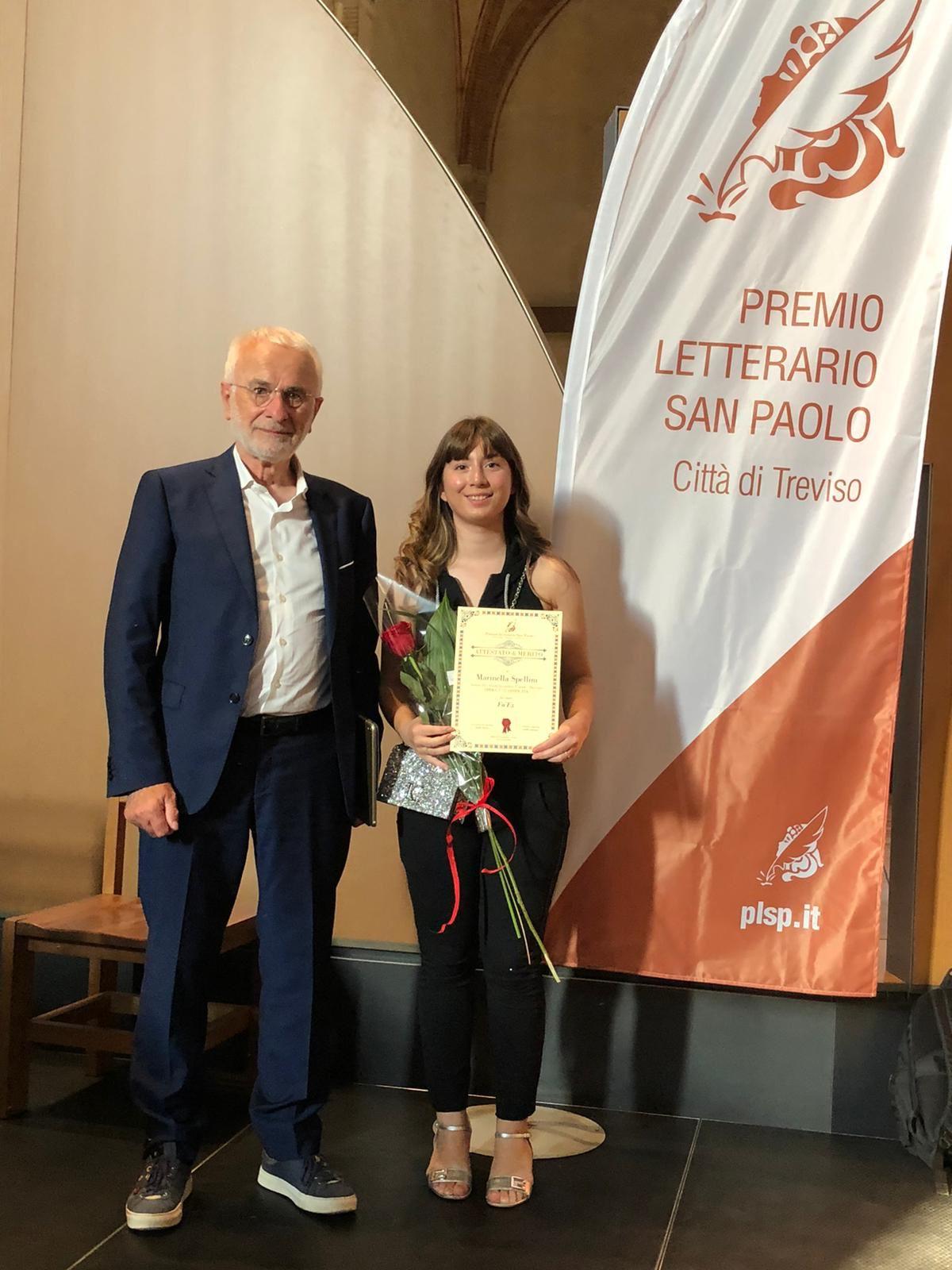 Complimenti a Marinella Spellini 4M! - Prima classificata al concorso